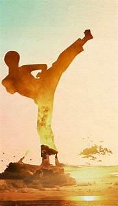Taekwondo Kung Fu Poster Background, Chinese, Style