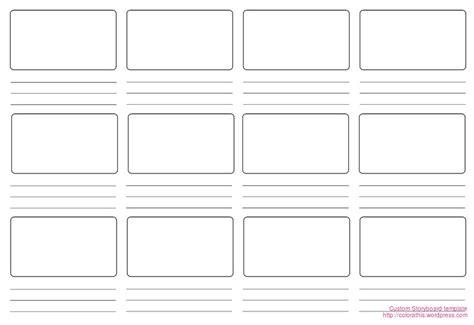 Website Storyboard Template Word