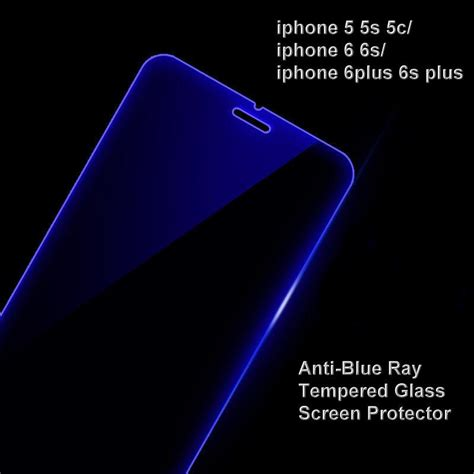 iphone 5s blue screen iphone 5s 6s 6splus anti blue tempered glass s end 1