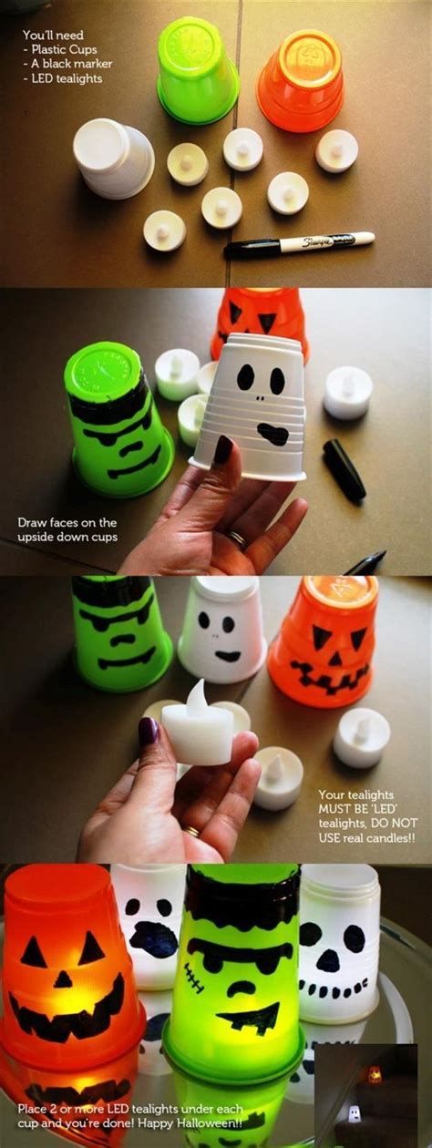 fun diy halloween craft ideas  pics