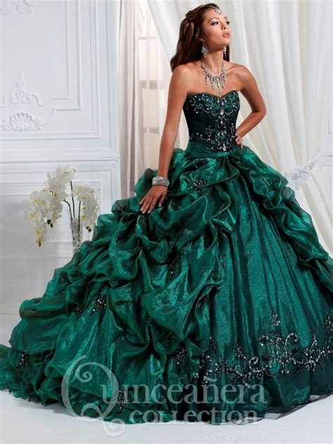 emerald quinceanera dresses house  wu quinceanera