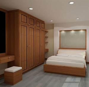Modern wooden wardrobe designs for bedroom picture 15 for Design for small bedroom modern