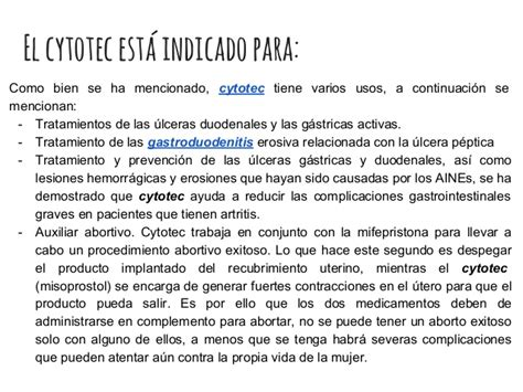 Dosis Cytotec 9 Semanas Que Es La Pastilla Cytotec Y Para Sirve