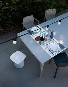Table A Manger Exterieur : 50 id es d co pour am nager une terrasse originale ~ Teatrodelosmanantiales.com Idées de Décoration