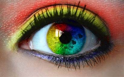 Eyes Eye Close Colored Wallpapers Funny Colorful