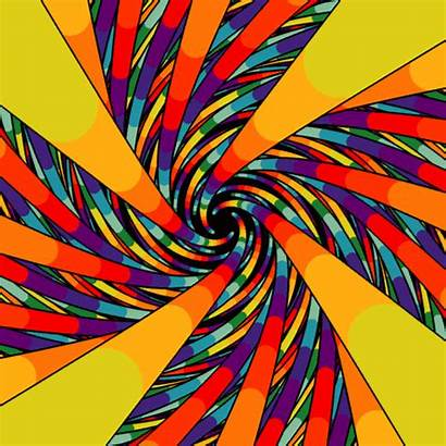 Gifs Abstract Hypnotic Shapes Designtaxi Screen