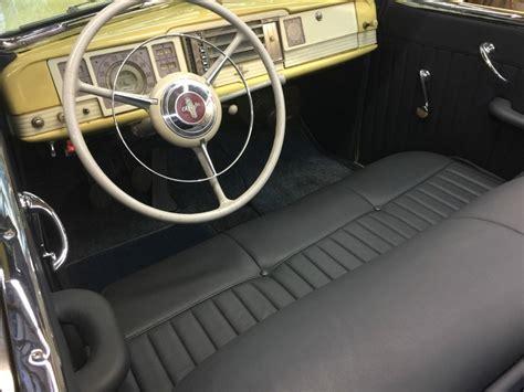 chrysler  yorker convertible  sale