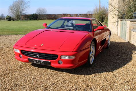 That appeal begins with classic ferrari proportions, only to be elevated by requisite rosso corsa paint and a tight cloth roof. COMING SOON - 1997 FERRARI 355 GTB F1 - Bicester Sports & Classics