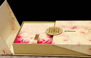 floral pearl finish voguish wedding invitations With indian wedding invitations in a box