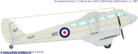 Wings Palette  De Havilland Dh848990 Dragondragon Rapidedominie  Great Britain