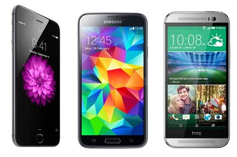 iphone 6 vs galaxy s5 iphone 6 samsung galaxy s5 or htc one m8 specs features