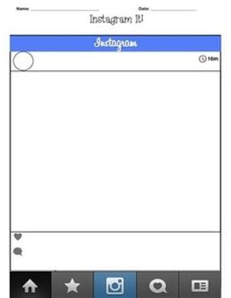 instagram layout template 14 custom instagram icon outline images instagram overlay template blank instagram template