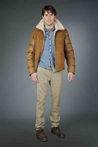 Veste Homme Col Mouton : manteau long mouton retourne homme ~ Dallasstarsshop.com Idées de Décoration
