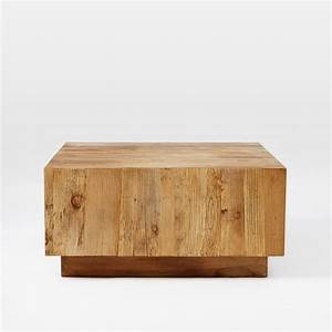 plank coffee table west elm With west elm plank coffee table