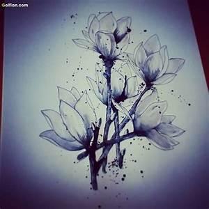50+ Most Beautiful Aqua Flower Tattoos – Best Flower ...