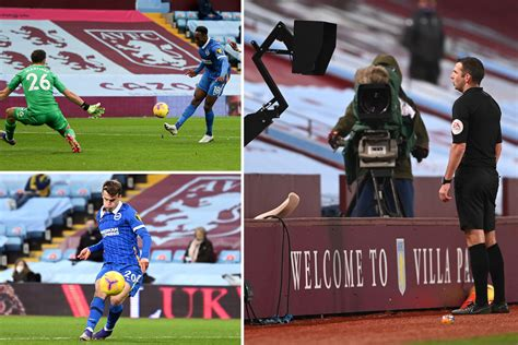Aston Villa 1 Brighton 2: VAR controversially rules out ...
