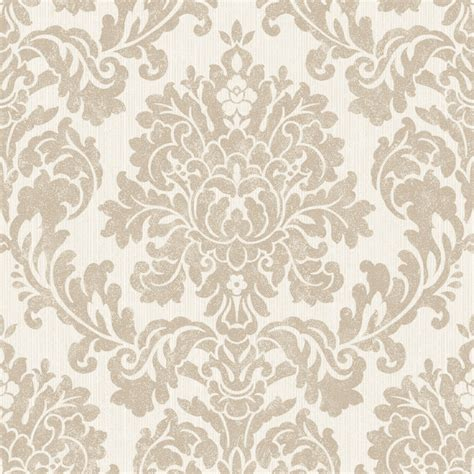 Diy Kitchen Cabinets Ideas - audley gold damask glitter effect wallpaper departments diy at b q