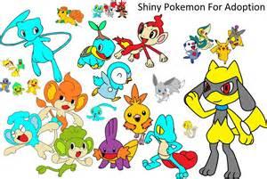 Shiny Pokemon Adopts