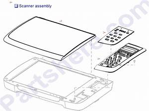 Cb394-60106 Hp Scanner Lid Assembly - To