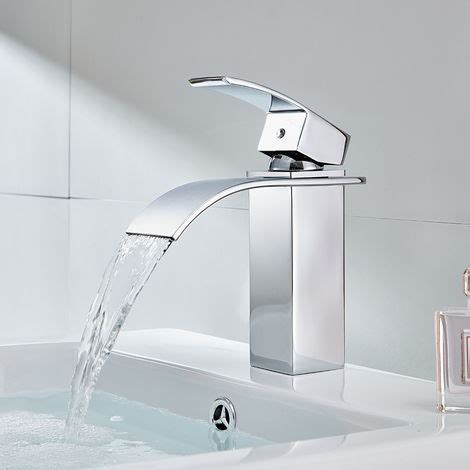 rubinetto cascata cromato rubinetto a cascata miscelatore lavabo bagno