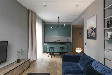 Interior Of The Apartment In Vilnius