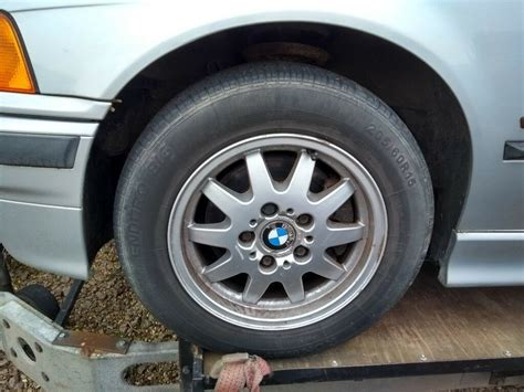 Bmw E36 Wheels 15 Inch With Good Tyres