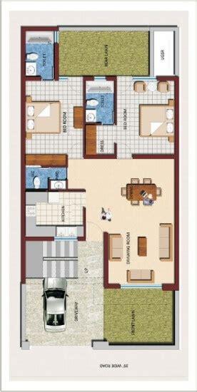 duplex home design  sqft east facing house plan bhk double storey house design