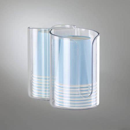 Interdesign Affixx Peel And Stick Adhesive Bathroom