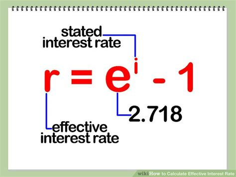 How To Calculate Effective Interest Rate 7 Steps (with