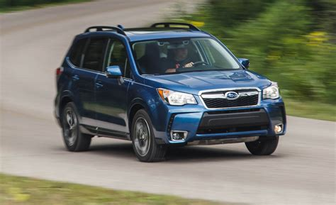 red subaru forester 2016 2016 subaru forester 2 0xt tested one fancy forester