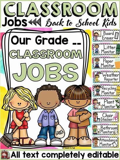 Classroom Jobs Class Teacher Teacherspayteachers Pay Grade