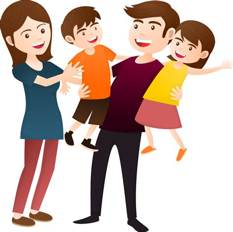family clipart happy person png transparent free images png only