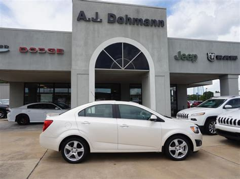 Dohmann Chevrolet by White Tricoat 2015 Chevrolet Sonic Sedan Ltz Auto