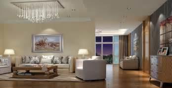 wohnzimmer le living room modern lighting 3d house