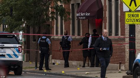 Grasp your handgun firmly and pick your target. Drive-by shooting at Chicago funeral home leaves at least 14 wounded as gun violence hits the ...