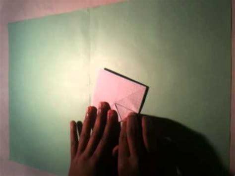 faire un origami fleur de lotus