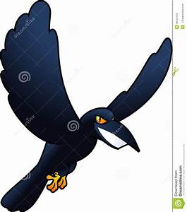 Crow stock illustration. Image of flame, blackbird ...