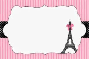 Paris Themed Baby Shower Invitations Photo