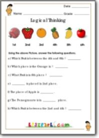 subtraction sums for class 2 grade 1 logical thinking worksheets maths exercise worksheets