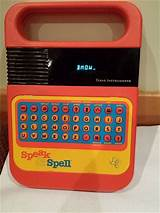 Vintage computer math and spelling toy
