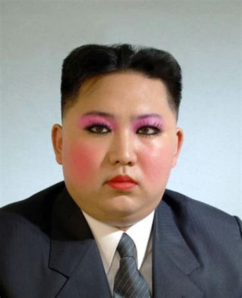 Who Is The Leader Of Korea by Korean Leader Jeong Un With Makeup Connect Korea