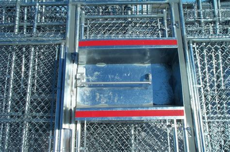 phoenix fence chainlink commercial industrial swing