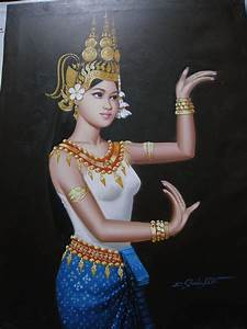 Apsara Khmer Drawing | www.imgkid.com - The Image Kid Has It!