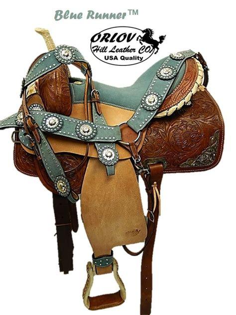 western saddles barrel saddle seat leather runner horse riders choice padded suede trim duke silver ok carolina hand