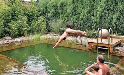 Schwimmteich Ohne Pumpe by Schwimmteich Anlegen Selbst De