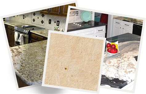 granite countertop surface types fayetteville