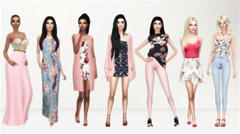 sims 4 look books and cc finds clothes posts sims 4 and shoes
