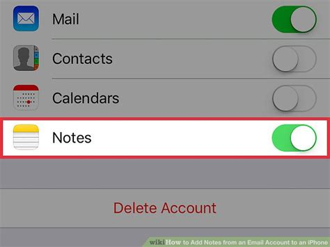 to add email account to iphone how to add notes from an email account to an iphone 13 steps