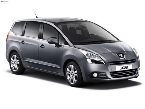 Peugeot Family by Peugeot 5008 Family 2011 Images 2048x1536
