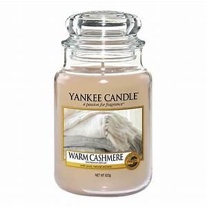 Yankee Candle Warm Cashmere Large Jar Candle Temptation
